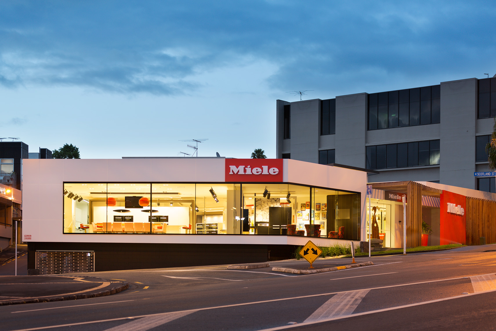 Exterior Miele Gallery Auckland