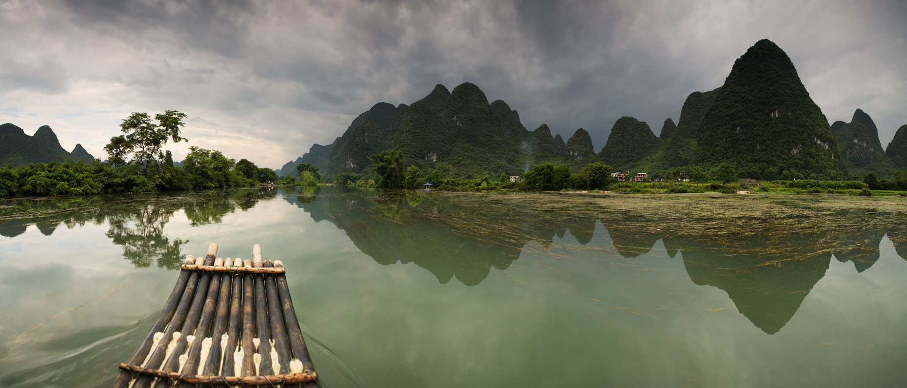 Bamboo Ride - Yulong River